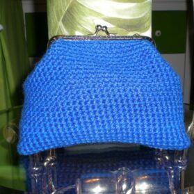 monedero azul