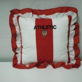 Confección de cojines del Athletic