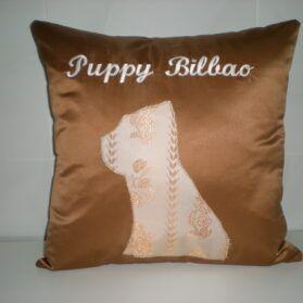 Confección de cojines Puppy Bilbao