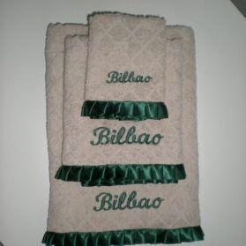 Conjunto de 3 toallas